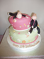 13th Jedward Birthday Cake