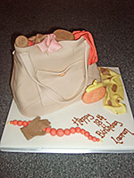18th Handbag Birthday Cake