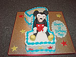 Mouse Birthday Cake